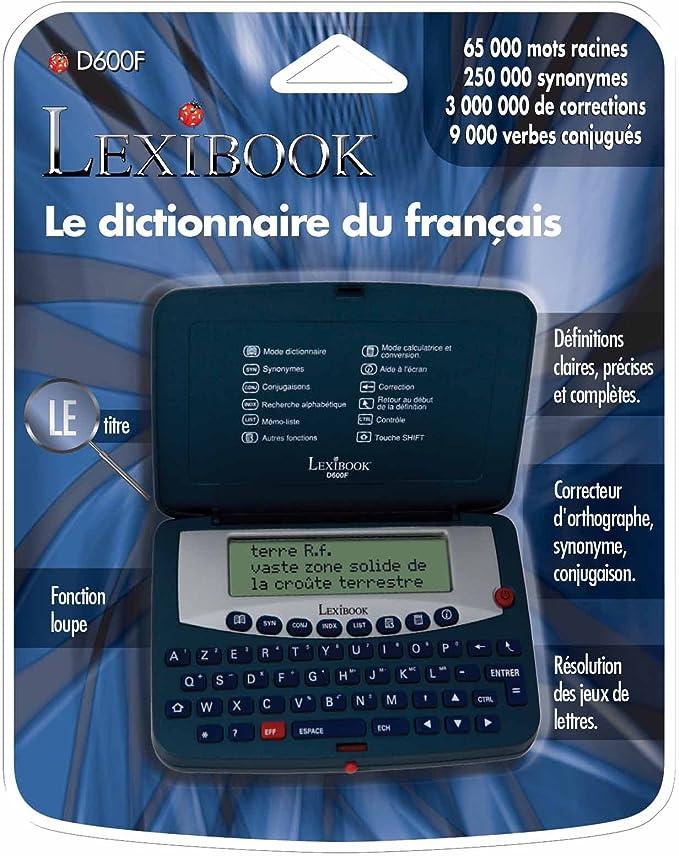 Lexibook D600f Dictionnaire Electronique Bleu Amazon Fr Jeux Et Jouets