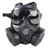 Outgeek M50 Airsoft Mask Full Face With Fan