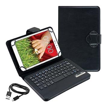 kwmobile Funda con teclado QWERTY para LG G Pad 8.3 HD con soporte: Amazon.es: Electrónica