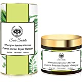 Seer Secrets Wheatgrass, Spirulina & Moringa Green Intense Repair Masque │Brighten Decongest Hydrate│50GM