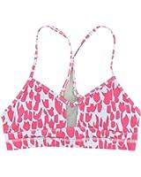 Alo Yoga Womens Spectra Sports Bra Pink
