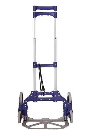 Jumbo - Carro portaequipajes de 3 ruedas plegable para escalera, carro transformable para subir escaleras, 100% aluminio, con asa extensible y plegable: Amazon.es: Industria, empresas y ciencia
