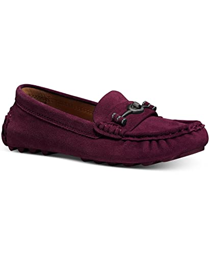 Coach Crosby Driver Womens Loafers Wine ...