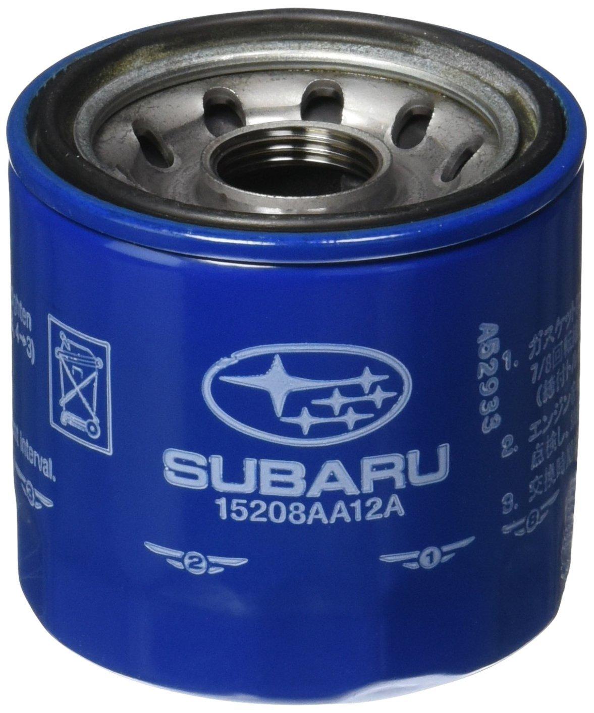 Genuine Subaru 15208AA12A Oil Filter, 1 Pack