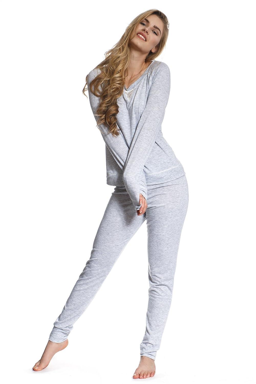 Jones New York Women's Long Sleeve & Pant Pajamas