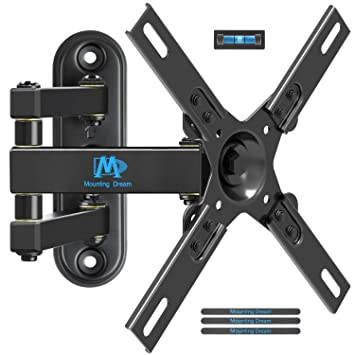 614c19c0936 Mounting Dream TV Wall Bracket Monitor Mount with Full Motion Articulating  Arm for most 17-