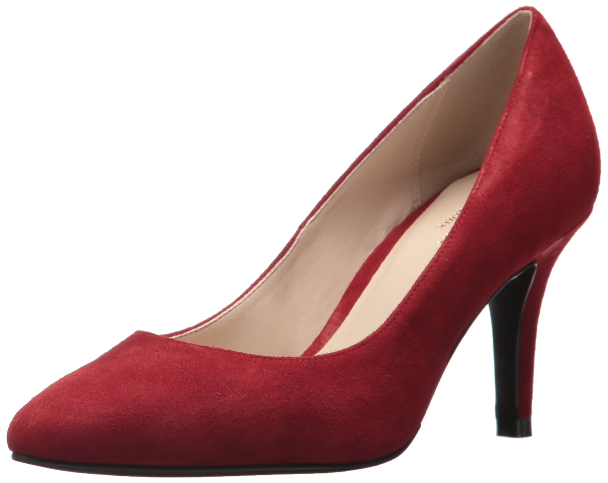 Cole Haan Women's Juliana 75 Pump, Bordeaux Suede, 8.5 B US