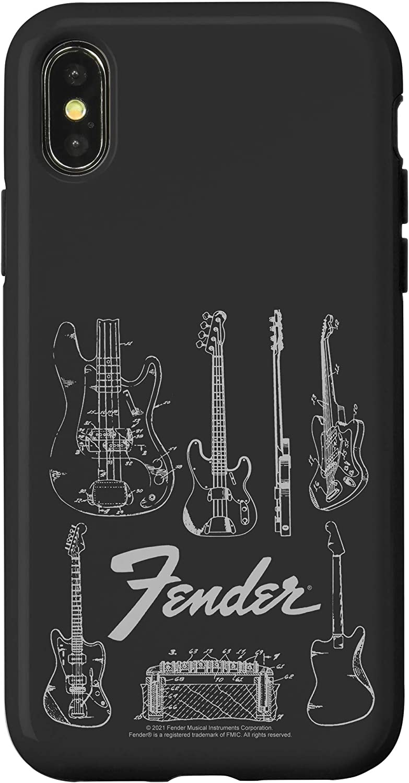 iPhone X/XS Fender Guitars Line Art Case