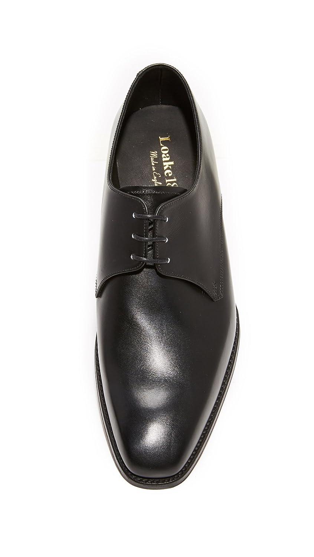 Cornwall Plain Toe Derbys - Black Loake FovLGnQjR