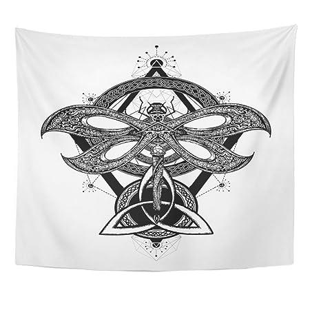 Tapiz con diseño de mandala, 50 x 60 cm, decoración del hogar ...