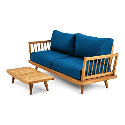S2dio Conjunto Jersey - 1 Sofa Teca 2 plazas con cojinería ...