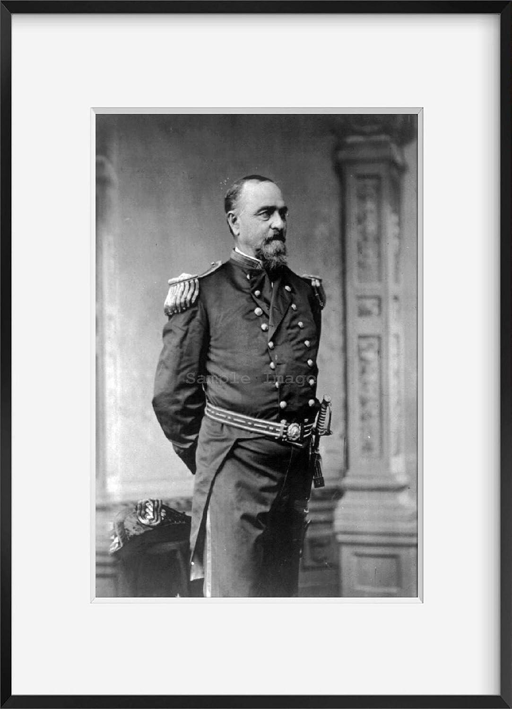 INFINITE PHOTOGRAPHS Photo: Robert Wilson Shufeldt,1822-1895,Rear Admiral,US Navy