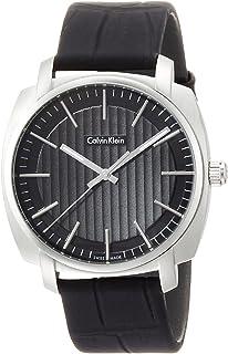 Calvin Klein Reloj Analogico para Hombre de Cuarzo con Correa en Caucho K5M311C1