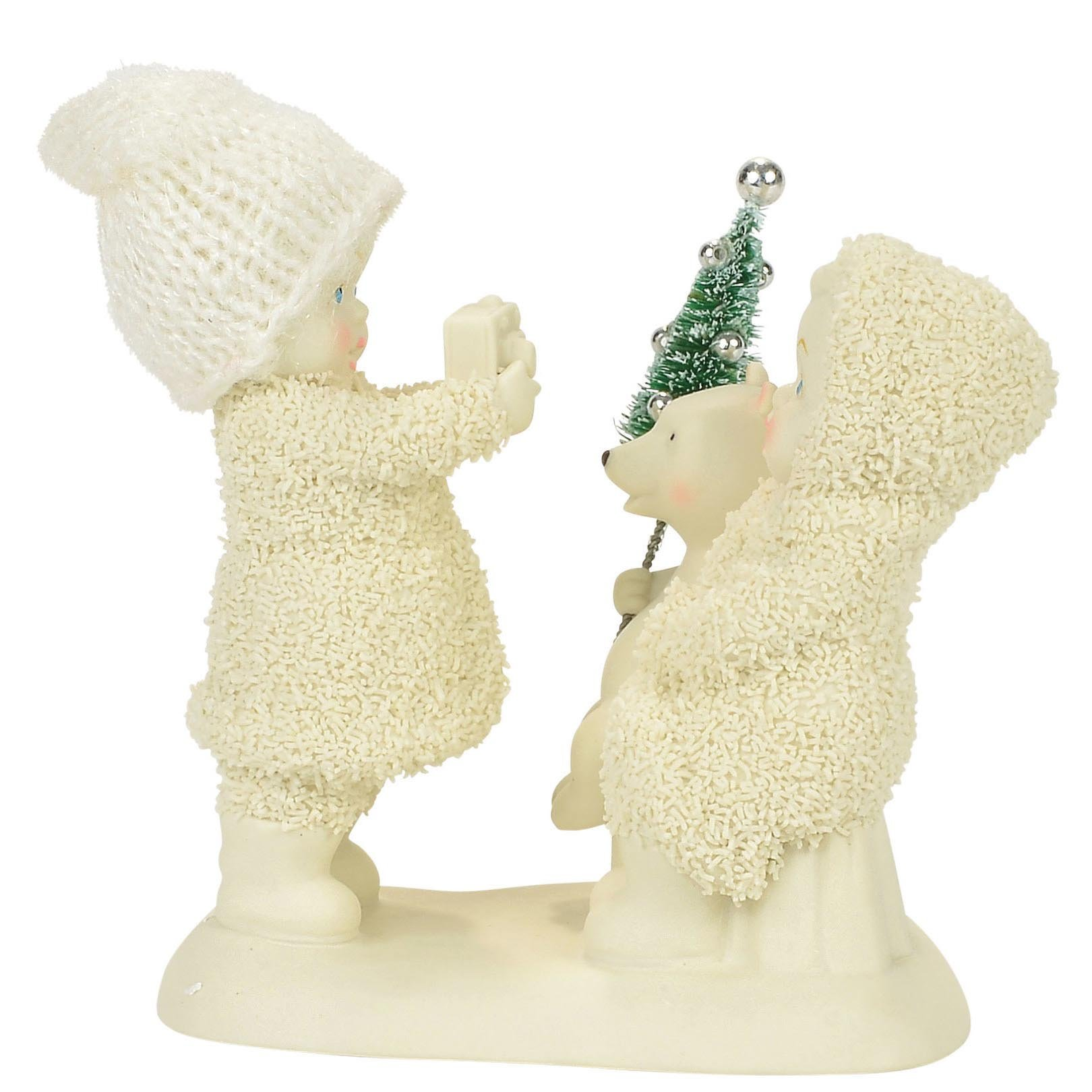 "Department 56 Snowbabies ""Say Cheese!"" Porcelain Figurine, 4"""