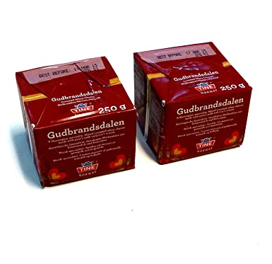 Gjetost Gudbrandsdalen Norwegian Brown Cheese 500g 2 X 250g