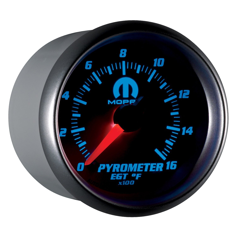 Auto Meter 880031 MOPAR Electric Pyrometer/EGT Gauge