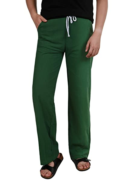 Zyfmaily Men/'S Drawstring Casual Beach Trousers Linen Summer Pants