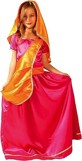 César - Disfraz de bollywood para niña, talla 8-10 años (F233-003 ...