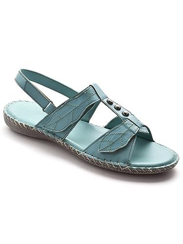 7787bbcffaef18 Pediconfort - Sandales ultra souples en cuir - femme: Amazon.fr: Chaussures  et Sacs