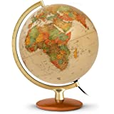 Jpc créations Globe terrestre 30 cm Premium Antique (Version Francaise)