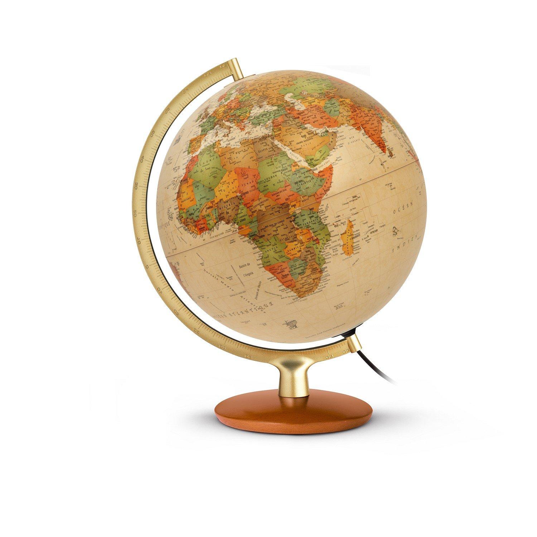 Jpc créations Globe terrestre 30 cm Premium Antique (Version Francaise)
