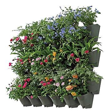 Extrem Worth Garten 14 Set Selbstbewässerung Vertikal Pflanzenwand WI02