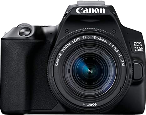Canon EOS 250D, Cámara Réflex 24.1 MP (4K WiFi Bluetooth + ...