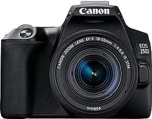 Canon EOS 250D, Cámara Réflex 24.1 MP (4K WiFi Bluetooth + ...