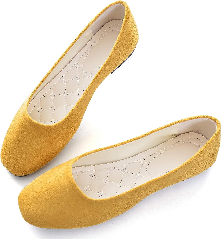 Classic Square Toe Ballet Slip