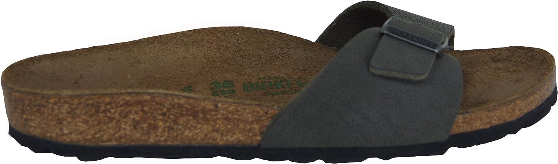 Birkenstock Madrid sandalen voor volwassenen, uniseks smaragdgroen N