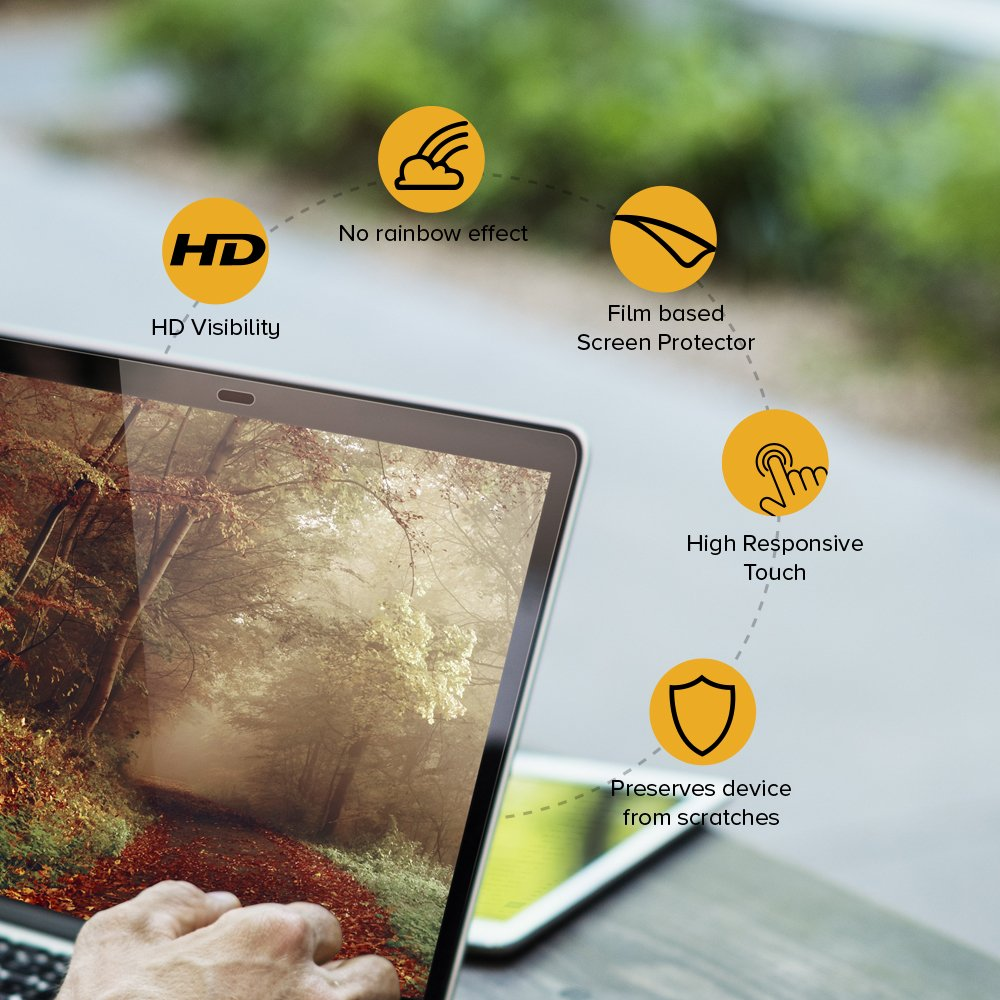 Celicious Matte Anti-Glare Screen Protector Film Compatible with HP Envy 15 K203NG Pack of 2 Touch