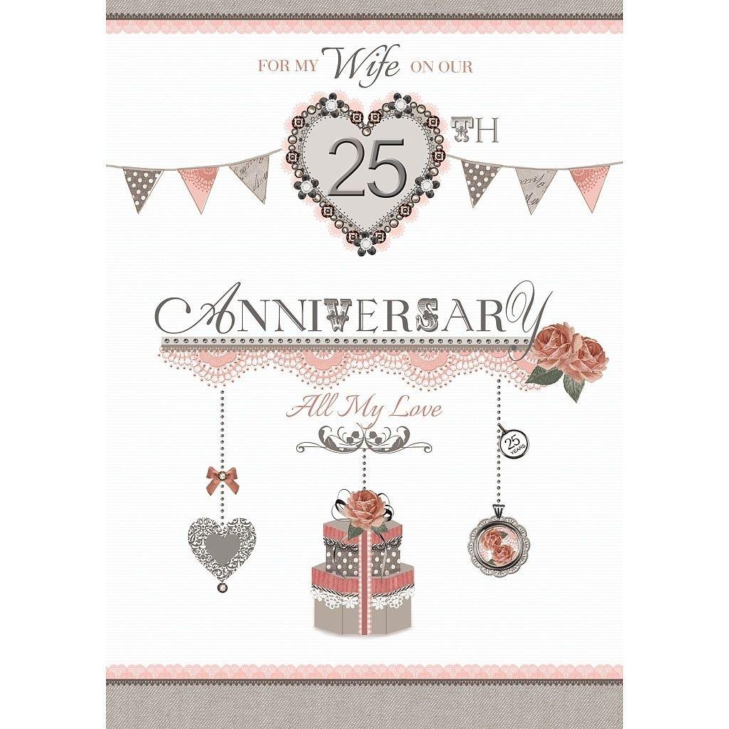 silver anniversary e cards