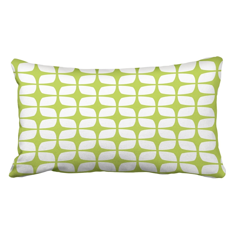 emvency枕ケースライムグリーンOutdoorsモダンパターンキング20 x 36インチ( 51 x 92 cm幾何装飾枕カバースロー枕カバークッションカバーCases One Side   B077JWTZ6T