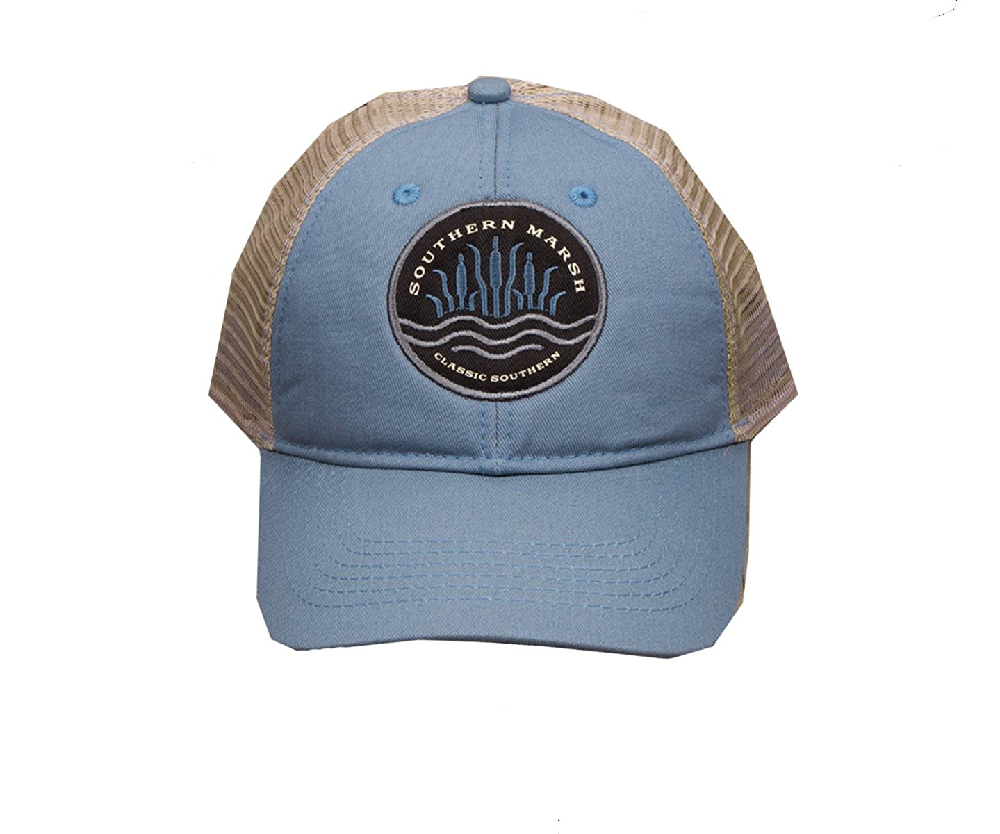 a1f8c94c Southern Marsh Unisex Cattail Trucker Hat (Bimini Green) at Amazon Men's  Clothing store: