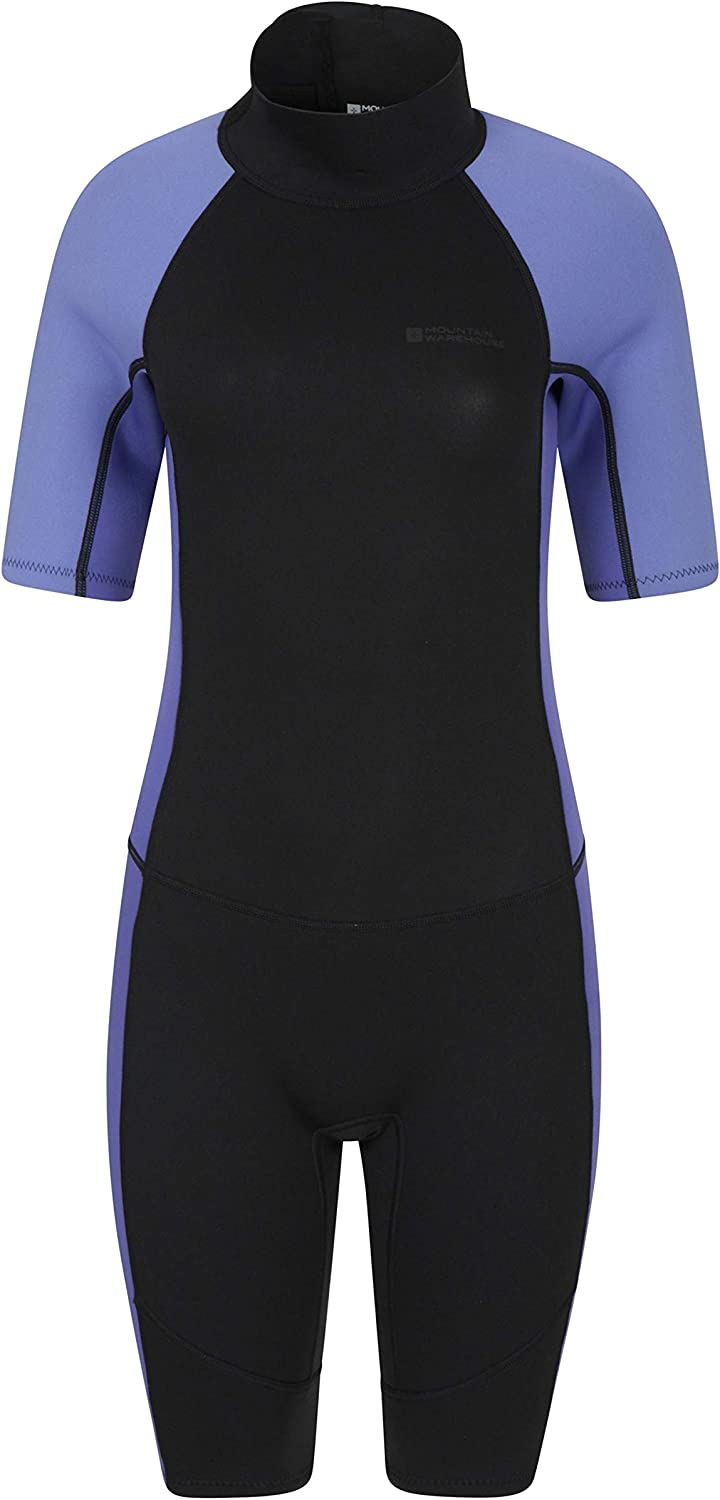 Mountain Warehouse Womens Shorty Wetsuit - Neoprene Ladies Swimsuit