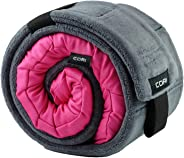 CORI Travel Pillow - World's 1st Customizable Memory Foam Travel Neck Pillow That ADAPTS to You for The Best Support, Comfort