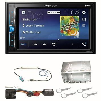 Pioneer MVH-A200VBT - Radio para Coche (USB, Bluetooth, MP3, WMA ...