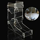 HeBei DIY Funny Mini Gaming Dice Tower Clear Transparency Prism Dice Tower Bar Tool