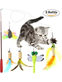 Cat toys for Retractable cat toy