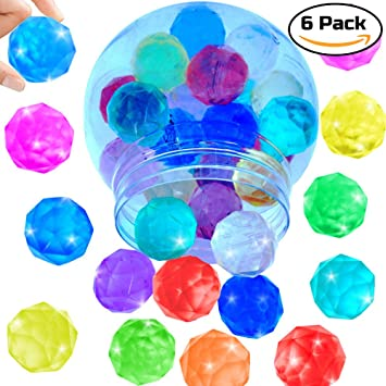 German Trendseller - 6 x Pelotas de Diamante┃Bolas Colores ...