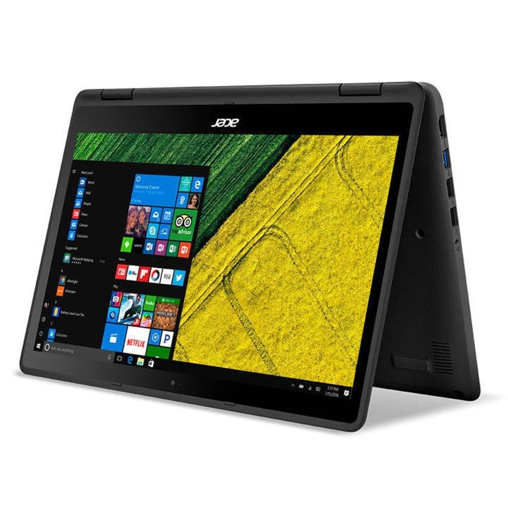 "Premium High Performance Acer 13.3"" Spin 5 Full HD 1920x1080 Touchscreen 2-in-1 Laptop PC Intel i5-6200U Processor 8GB RAM 256GB SSD 802.11AC WIFI HDMI Bluetooth Webcam Windows 10-Black"