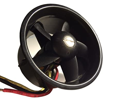 64mm Ducted Fan Set 5 Blades Electric EDF With 3-4s motor kv4300 For RC  models