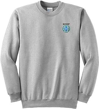 Burlington Northern Santa Fe Intermodal Logo Pullover Hoodie Sweatshirt 03