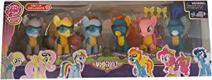 My little pony exclusive Wonderbolts 6 figure gift set including derpy hooves
