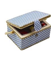 D & D de costura cesta organizador con accesorios, hogar caja de costura Kit de