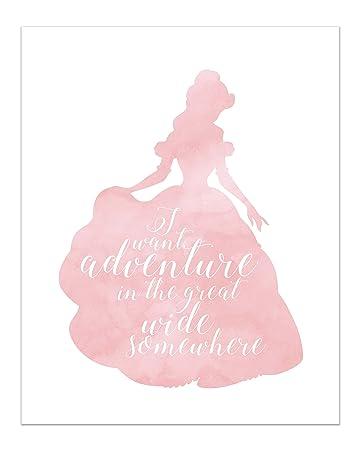 Amazoncom Summit Designs Belle Disney Princess Inspirational Quote