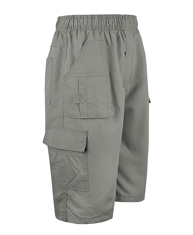 RageIT Lotmart Kinder Uni /& Tarnung Viele Taschen Shorts Jungen Armee Aufdruck Cargo Combat