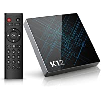 TICTID K12 Android 6.0 TV Box Amlogic S912 Qcta Core Arm Cortex-A53 CPU / 2G DDR3 + 16G Emmc/Dual Band WiFi / 1000M LAN/Bluetooth 4.1 /4K / HD/Smart TV Box