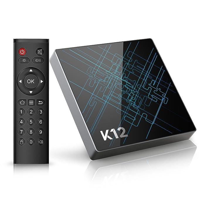 13 opinioni per Bqeel [Android 7.1 OS] K12 Android TV Box/Amlogic S912 Qcta Core ARM Cortex-A53