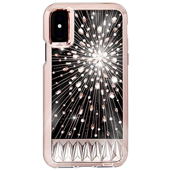 super popular e6404 ee8f2 Case-Mate iPhone X Case - Luminescent - Light Up Crystals - Protective  Design for Apple iPhone 10 - Luminescent